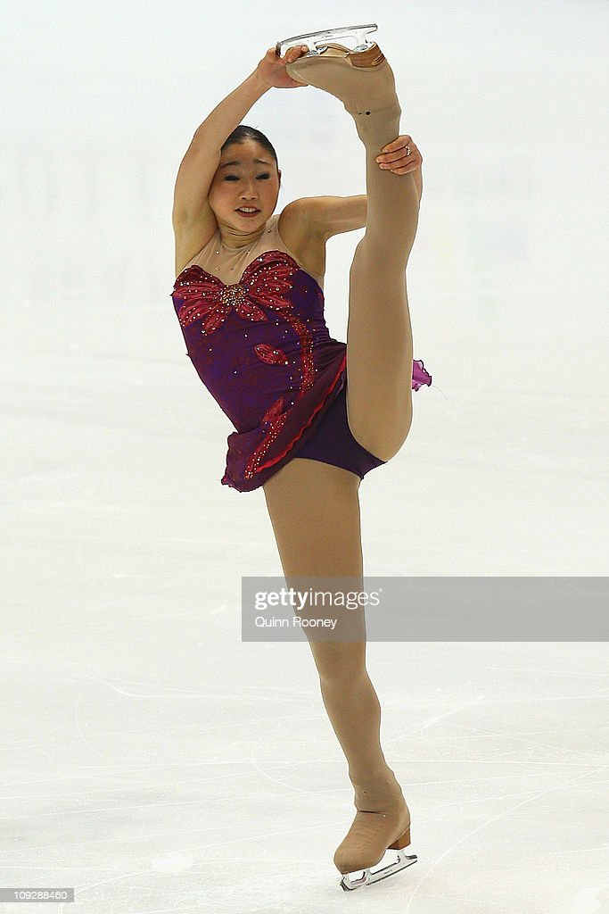 <a gi-track='captionPersonalityLinkClicked' href=/galleries/search?phrase=Mirai+Nagasu&family=editorial&specificpeople=4125421 ng-click='$event.stopPropagation()'>Mirai Nagasu</a> of the USA skates in the Ladies Short Program during day three of the Four Continents Figure Skating Championships at Taipei Arena on February 19, 2011 in Taipei, Taiwan.