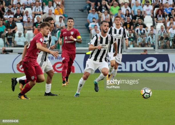 Miralem Pjanic during Serie A match between Juventus v Cagliari in Turin on August 19 2017