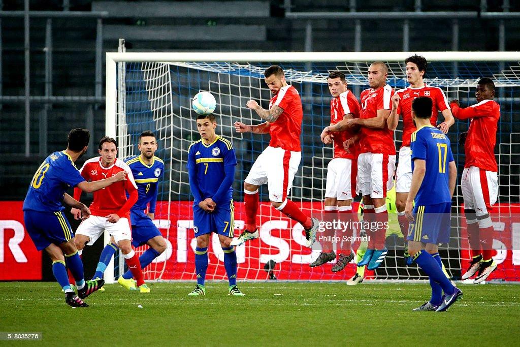 Switzerland v Bosnia - International Friendly