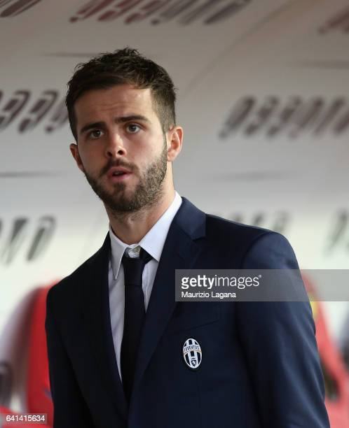 Miralem Pjanic of Juventus after the Serie A match between FC Crotone and Juventus FC at Stadio Comunale Ezio Scida on February 8 2017 in Crotone...