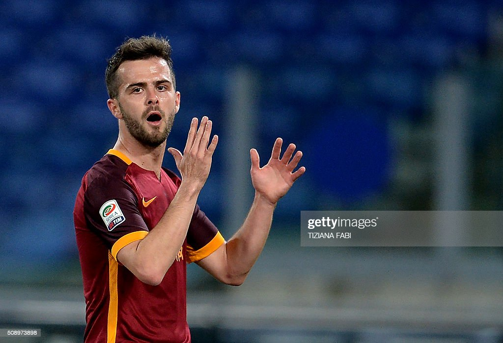 http://media.gettyimages.com/photos/miralem-pjanic-romas-midfielder-from-bosniaherzegovina-reacts-during-picture-id508973898