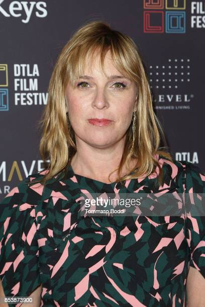 Miranda Bailey attends the DTLA Film Festival Premiere Of 'The Pathological Optimist' at Regal 14 at LA Live Downtown on September 25 2017 in Los...