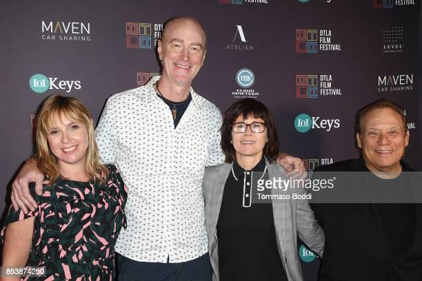Miranda Bailey Craig Richey Andrea Maxwell and Gary Coppola attend the DTLA Film Festival Premiere Of 'The Pathological Optimist' at Regal 14 at LA...