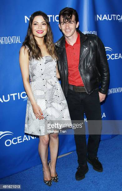 Miranda Cosgrove and Drake Bell arrive Nautica and LA Confidential's Oceana Beach house party held at Marion Davies Guest House on May 16 2014 in...