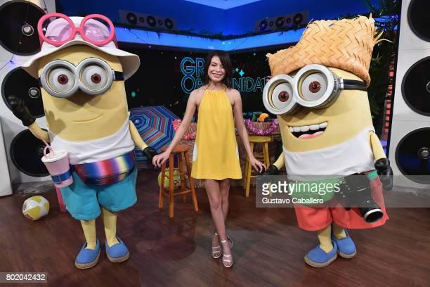 Miranda Cosgrove attends the DM3 Press Day Miami Un Nuevo Dia on June 27 2017 in Hialeah Florida