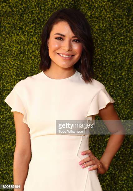 Miranda Cosgrove attends the Premiere Of Universal Pictures And Illumination Entertainment's 'Despicable Me 3' at The Shrine Auditorium on June 24...