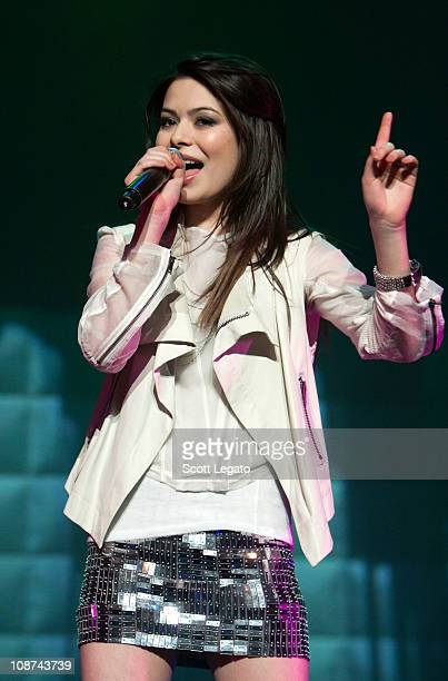 Miranda Cosgrove performs at The Fillmore on February 1 2011 in Detroit Michigan