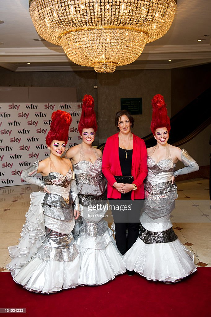 <a gi-track='captionPersonalityLinkClicked' href=/galleries/search?phrase=Miranda+Hart&family=editorial&specificpeople=4204375 ng-click='$event.stopPropagation()'>Miranda Hart</a> and the Cast of 'Priscilla, Queen of the Desert' attend the Women In Film And TV Awards 2011 annual ceremony celebrating the accomplishments of women working in the film and television industries at the Hilton Park Lane on December 2, 2011 in London, England.