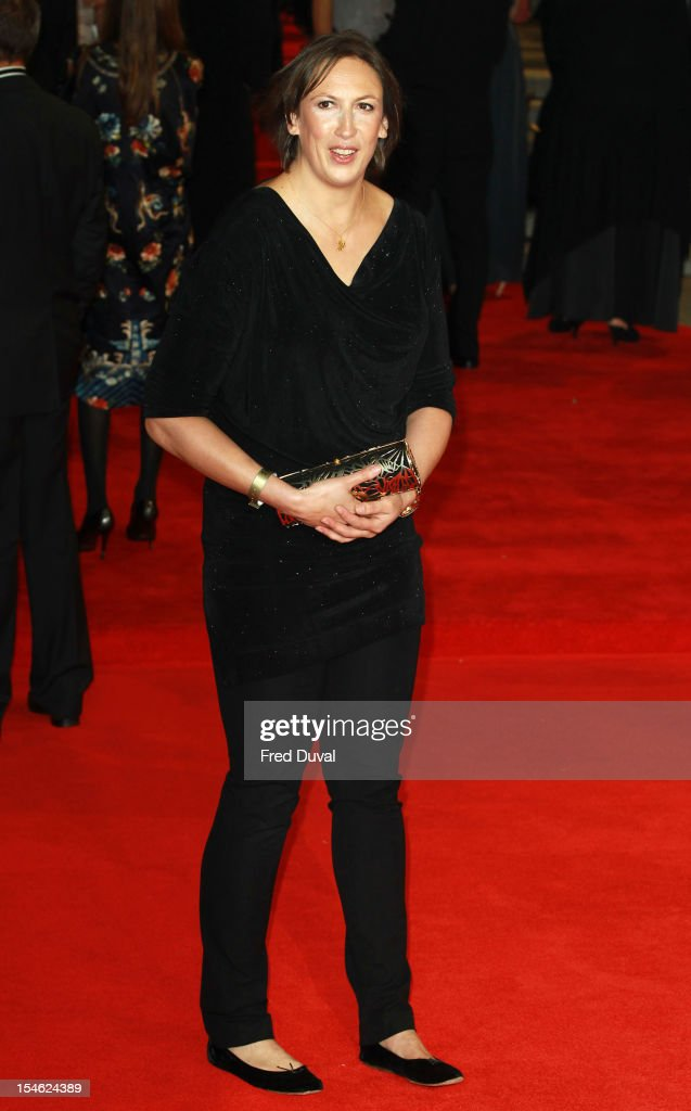 Miranda Hart attends the Royal World Premiere of 'Skyfall' at Royal Albert Hall on October 23, 2012 in London, England.