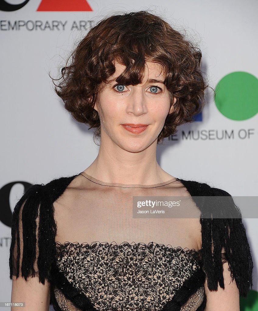 Miranda July attends the 2013 MOCA Gala at MOCA Grand Avenue on April 20, 2013 in Los Angeles, California.