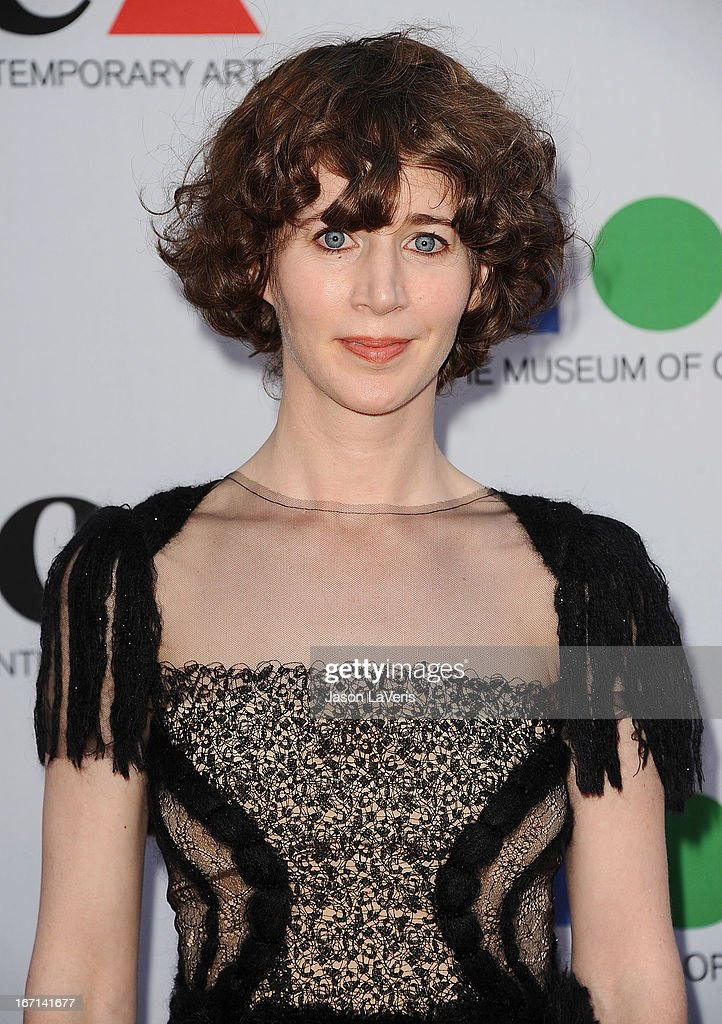 Miranda July attends the 2013 MOCA Gala at MOCA Grand Avenue on April 20, 2013 in Los Angeles, California.