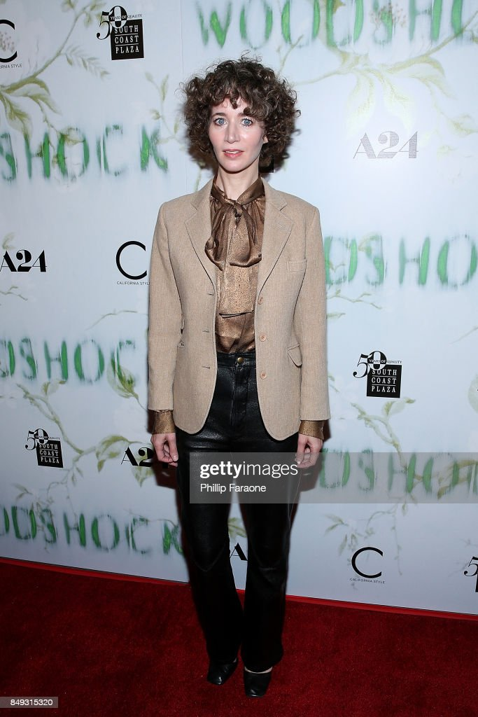 Miranda July attends the premiere of A24's 'Woodshock' at ArcLight Cinemas on September 18, 2017 in Hollywood, California.