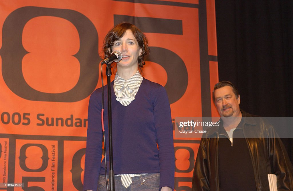 Miranda July director of 'Me and You and Everyone We Know' and Geoffrey Gilmore