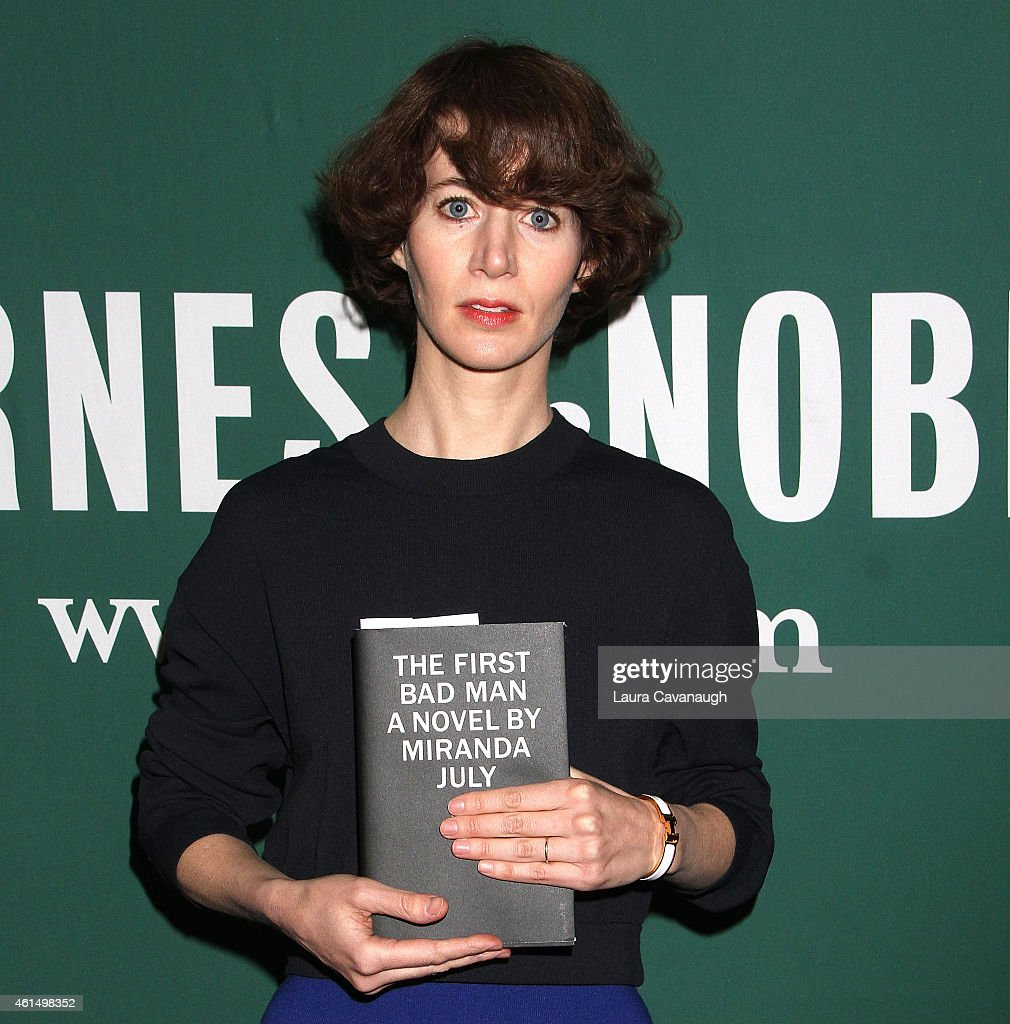 Miranda July Signs Copies Of Her Book 'First Bad Man' at Barnes Noble Union Square on January 13 2015 in New York City
