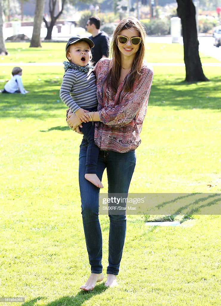 <a gi-track='captionPersonalityLinkClicked' href=/galleries/search?phrase=Miranda+Kerr&family=editorial&specificpeople=5714330 ng-click='$event.stopPropagation()'>Miranda Kerr</a> and <a gi-track='captionPersonalityLinkClicked' href=/galleries/search?phrase=Flynn+Bloom&family=editorial&specificpeople=8325201 ng-click='$event.stopPropagation()'>Flynn Bloom</a> as seen on February 17, 2013 in Los Angeles, California.