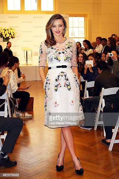 Miranda Kerr arrives at a Kora Organics product event at David Jones on May 20 2014 in Sydney Australia