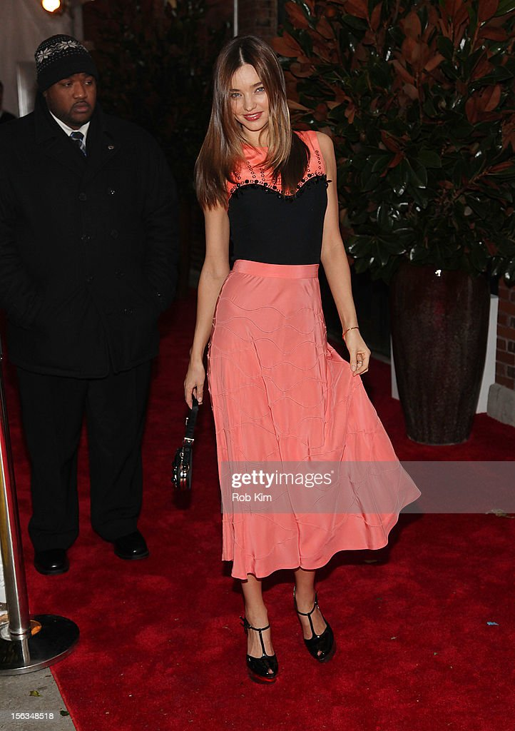 <a gi-track='captionPersonalityLinkClicked' href=/galleries/search?phrase=Miranda+Kerr&family=editorial&specificpeople=5714330 ng-click='$event.stopPropagation()'>Miranda Kerr</a> arrives at The Ninth Annual CFDA/Vogue Fashion Fund Awards at 548 West 22nd Street on November 13, 2012 in New York City.