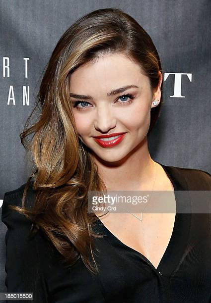 Miranda Kerr attends as Gilt And Stuart Weitzman celebrate the 5050 Boot 20th anniversary on October 16 2013 in New York City