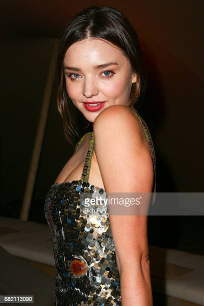 Miranda Kerr attends the Christian Dior Cruise 2018 Runway Show at the Upper Las Virgenes Canyon Open Space Preserve on May 11 2017 in Santa Monica...