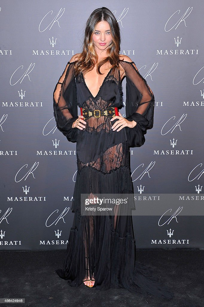 <a gi-track='captionPersonalityLinkClicked' href=/galleries/search?phrase=Miranda+Kerr&family=editorial&specificpeople=5714330 ng-click='$event.stopPropagation()'>Miranda Kerr</a> attends the CR Fashion Book Issue No.5 Launch Party Hosted by Carine Roitfeld and Stephen Gan at The Peninsula Paris on September 30, 2014 in Paris, France.