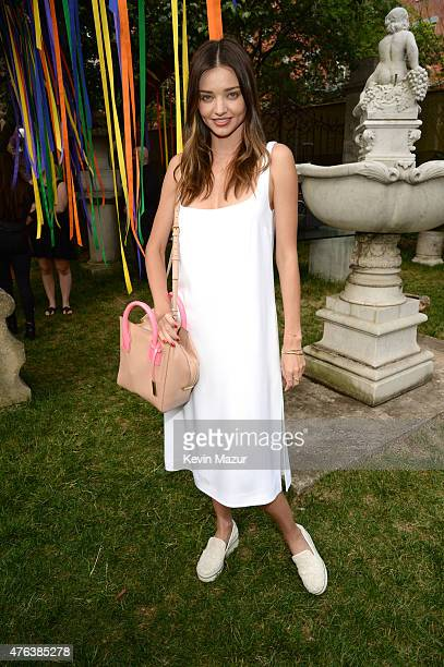 Miranda Kerr attends the Stella McCartney Spring 2016 Resort Presentation on June 8 2015 in New York City