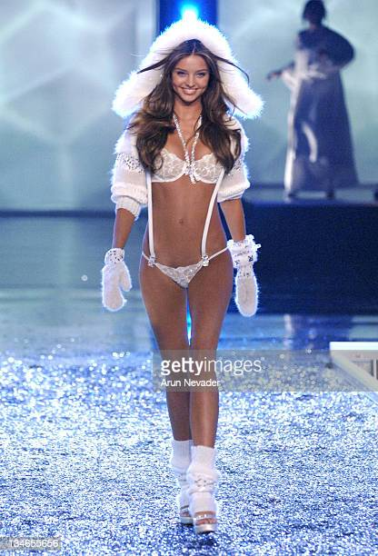 Miranda Kerr during 11th Victoria's Secret Fashion Show Runway at Kodak Theatre in Hollywood California United States