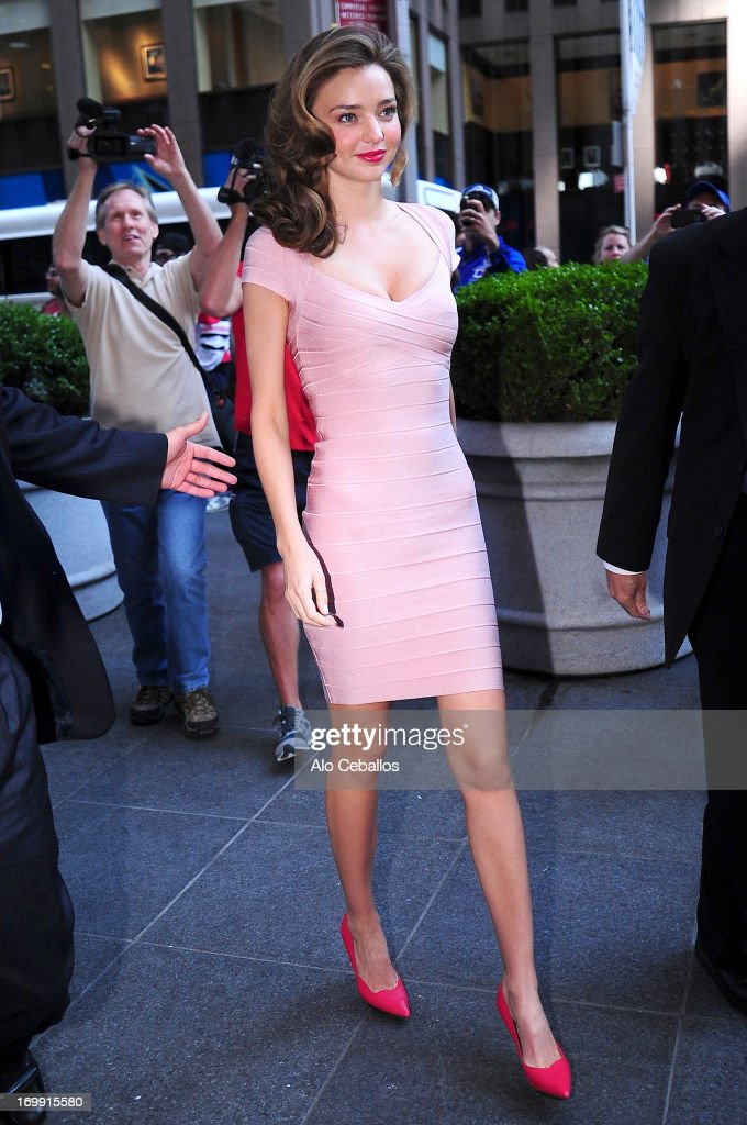 <a gi-track='captionPersonalityLinkClicked' href=/galleries/search?phrase=Miranda+Kerr&family=editorial&specificpeople=5714330 ng-click='$event.stopPropagation()'>Miranda Kerr</a> is seen arriving at Fox studios on June 4, 2013 in New York City.