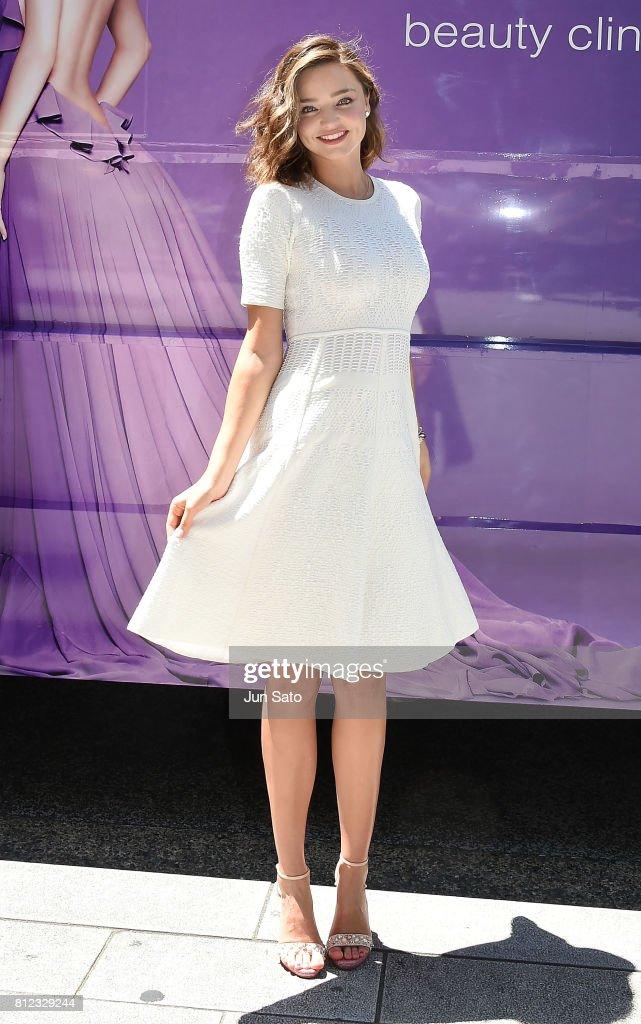 Miranda Kerr Promotes Takano Yuri Aesthetic Clinic