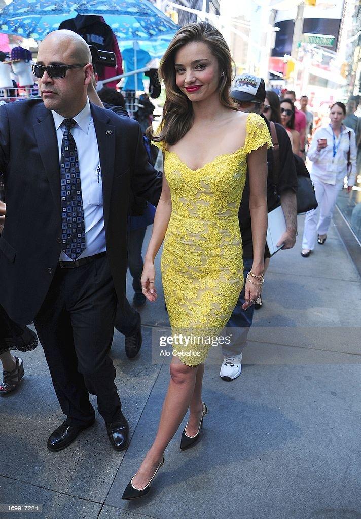 Miranda Kerr is seen in the Upper East Side on June 4, 2013 in New York City.