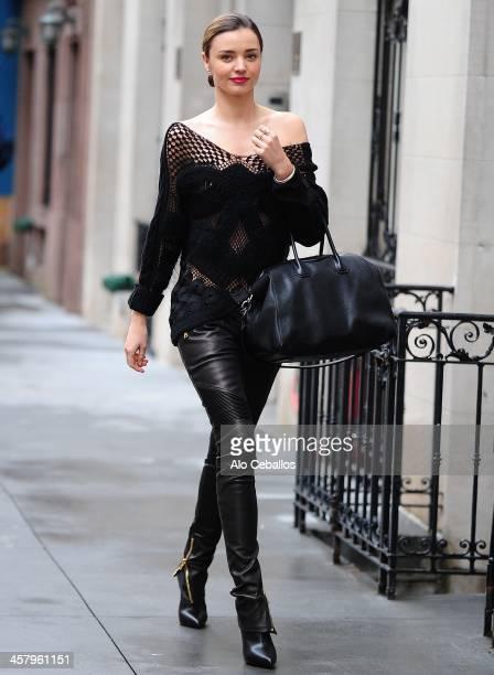 Miranda Kerr is seen on December 19 2013 in New York City