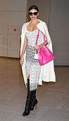 Miranda Kerr is seen upon arrival at Narita International Airport on December 9 2014 in Narita Japan