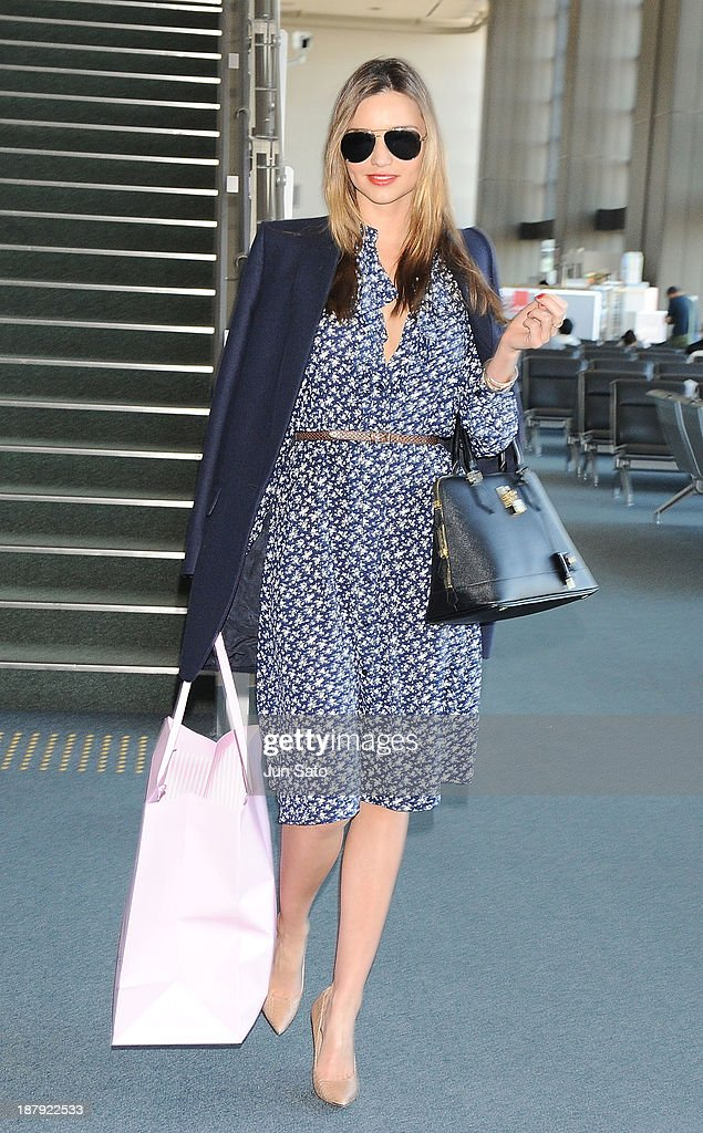 <a gi-track='captionPersonalityLinkClicked' href=/galleries/search?phrase=Miranda+Kerr&family=editorial&specificpeople=5714330 ng-click='$event.stopPropagation()'>Miranda Kerr</a> is sighting at Narita International Airport on November 14, 2013 in Narita, Japan.