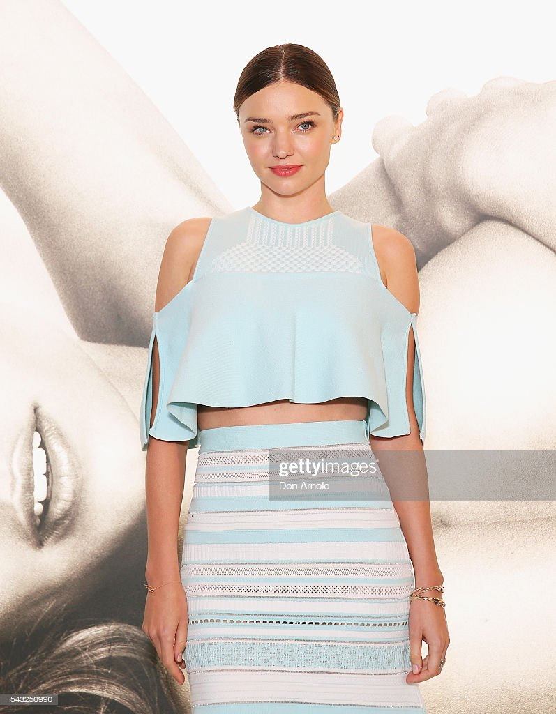 <a gi-track='captionPersonalityLinkClicked' href=/galleries/search?phrase=Miranda+Kerr&family=editorial&specificpeople=5714330 ng-click='$event.stopPropagation()'>Miranda Kerr</a> poses before she greets fans at Westfield,Sydney on June 27, 2016 in Sydney, Australia.
