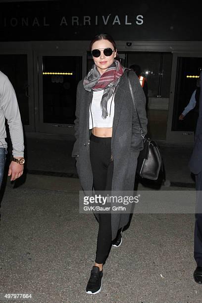 Miranda Kerr seen at LAX on November 19 2015 in Los Angeles California