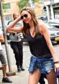 Miranda Kerr seen in the West Village on July 28 2013 in New York City