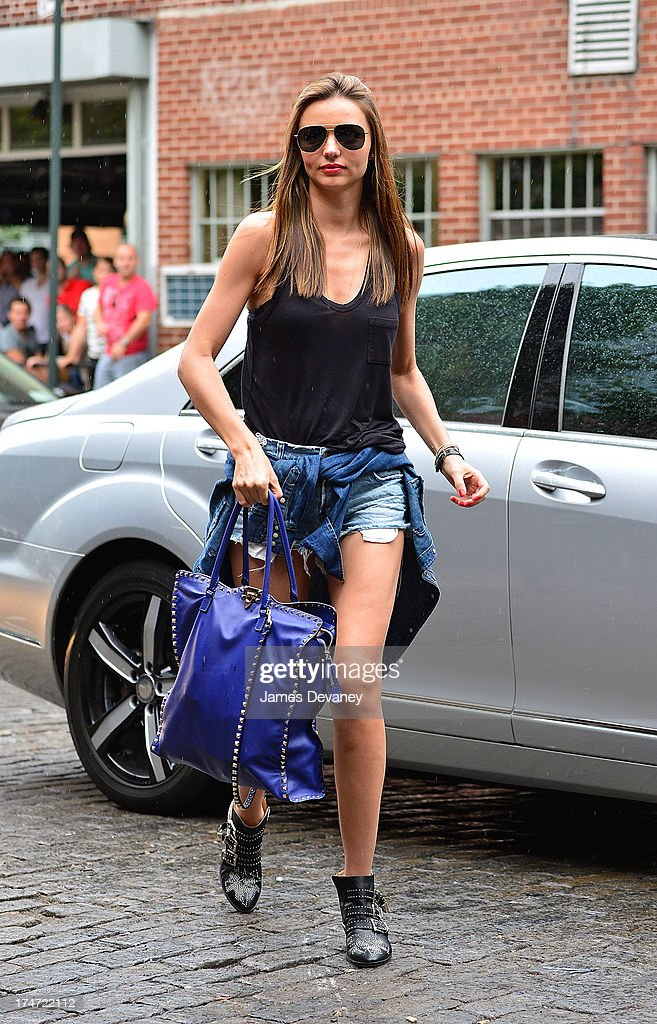 <a gi-track='captionPersonalityLinkClicked' href=/galleries/search?phrase=Miranda+Kerr&family=editorial&specificpeople=5714330 ng-click='$event.stopPropagation()'>Miranda Kerr</a> seen in the West Village on July 28, 2013 in New York City.