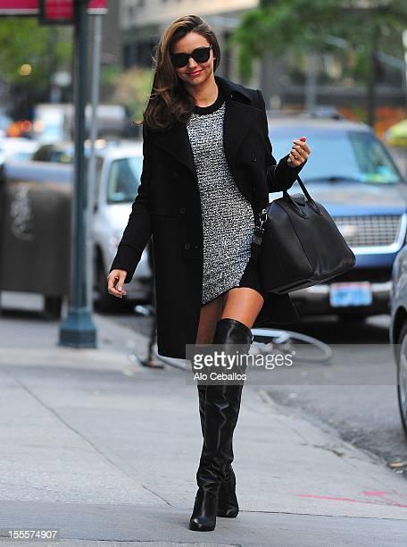 Miranda Kerr sighting at Streets of Manhattan on November 5 2012 in New York City