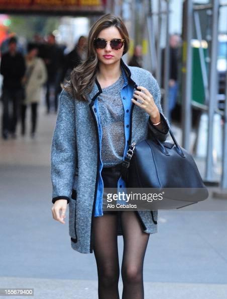 Miranda Kerr Sighting on the streets of Manhattan on November 6 2012 in New York City