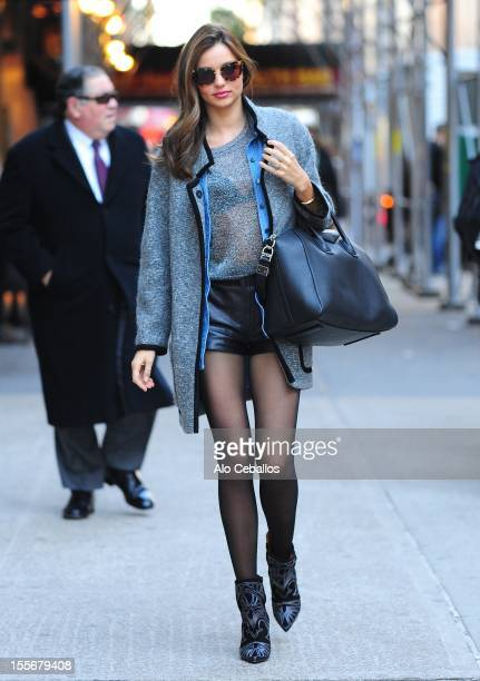 Miranda Kerr Sighting on the streets of Manhattan on November 6 2012 in New York City