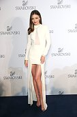 Miranda Kerr Swarovski Ambassador during the Swarovski new collection launch event on July 2 2015 in Wattens Austria