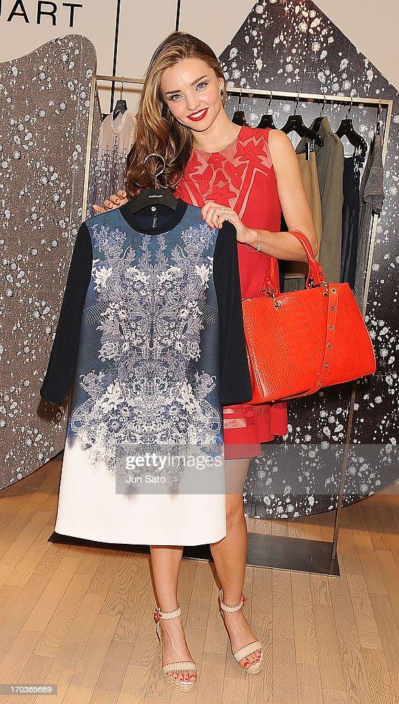 Miranda Kerr visits Jill Stuart Store on June 12, 2013 in Seoul, South Korea.