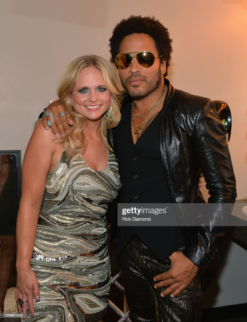 <a gi-track='captionPersonalityLinkClicked' href=/galleries/search?phrase=Miranda+Lambert&family=editorial&specificpeople=571972 ng-click='$event.stopPropagation()'>Miranda Lambert</a> and <a gi-track='captionPersonalityLinkClicked' href=/galleries/search?phrase=Lenny+Kravitz&family=editorial&specificpeople=171613 ng-click='$event.stopPropagation()'>Lenny Kravitz</a> attend the 2013 CMT Music awards at the Bridgestone Arena on June 5, 2013 in Nashville, Tennessee.