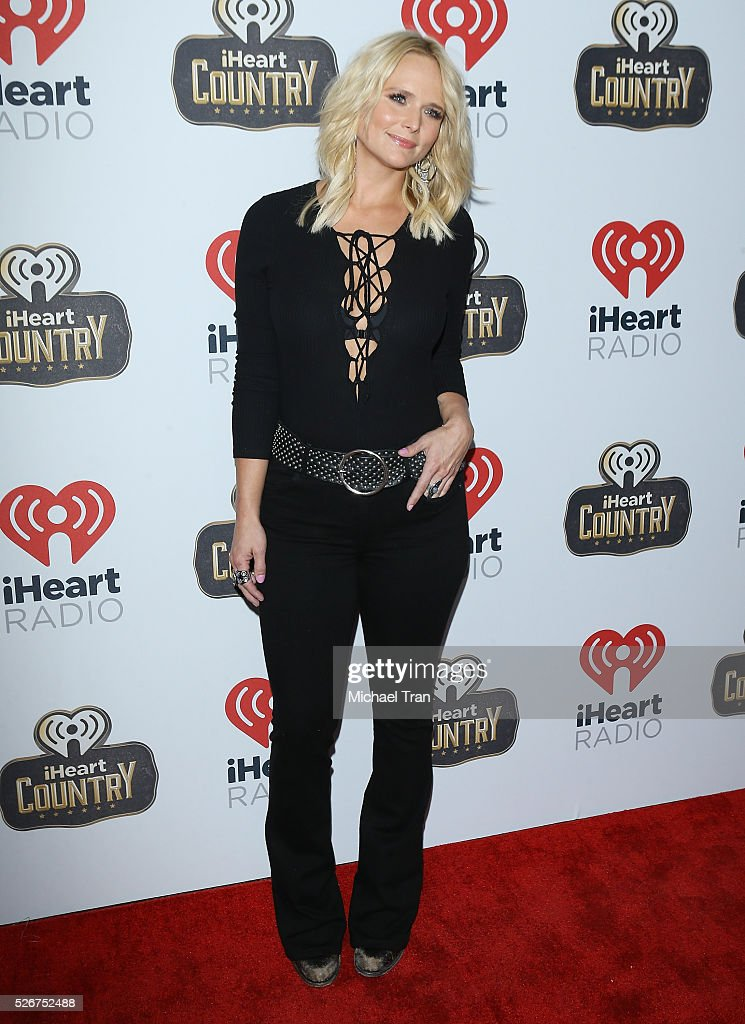 Miranda Lambert arrives at the 2016 iHeartCountry Festival held at The Frank Erwin Center on April 30, 2016 in Austin, Texas.