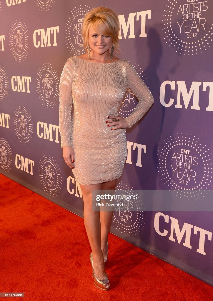 <a gi-track='captionPersonalityLinkClicked' href=/galleries/search?phrase=Miranda+Lambert&family=editorial&specificpeople=571972 ng-click='$event.stopPropagation()'>Miranda Lambert</a> attends 2012 CMT Artists Of The Year at The Factory at Franklin on December 3, 2012 in Franklin, Tennessee.