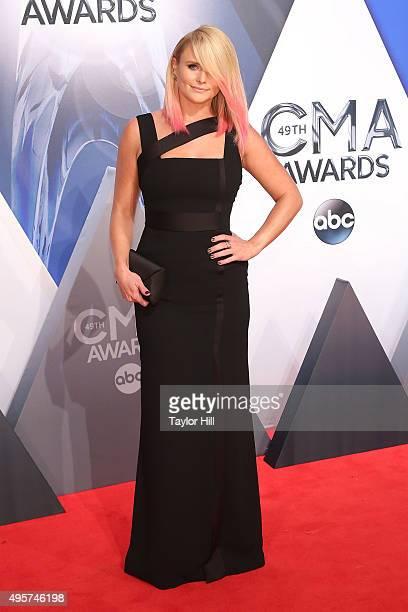 Miranda Lambert attends the 49th annual CMA Awards at the Bridgestone Arena on November 4 2015 in Nashville Tennessee