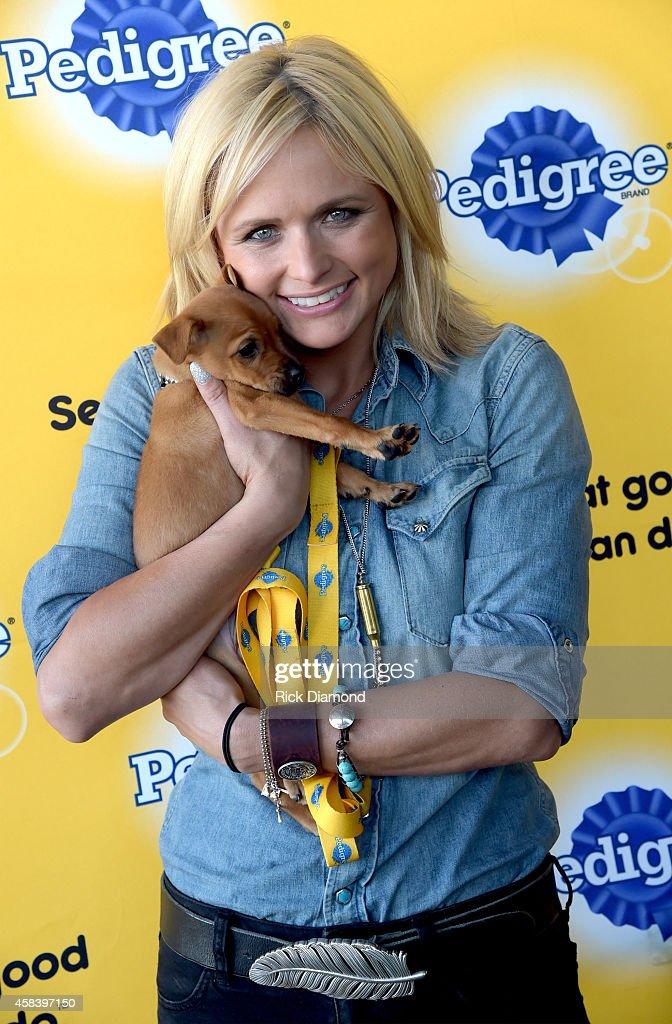 Miranda Lambert And Pedigree Brand Put Shelter Dogs Center Stage At The Pedigree Adoption Suite