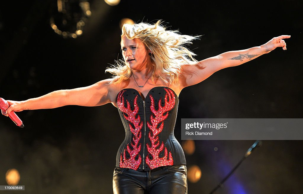 Miranda Lambert performs during the 2013 CMA Music Festival on June 6, 2013 in Nashville, Tennessee.