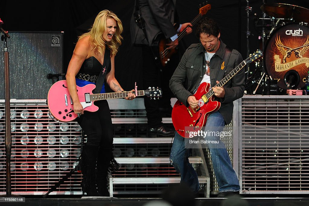 <a gi-track='captionPersonalityLinkClicked' href=/galleries/search?phrase=Miranda+Lambert&family=editorial&specificpeople=571972 ng-click='$event.stopPropagation()'>Miranda Lambert</a> performs during the Night Train Tour 2013 at Fenway Park on July 20, 2013 in Boston, Massachusetts.