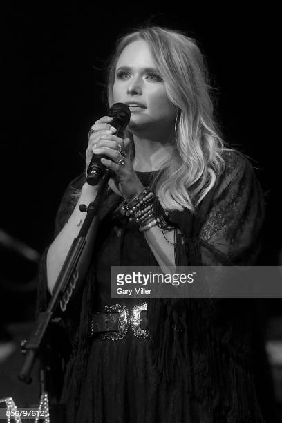 Miranda Lambert performs in concert during the Mack Jack McConaughey Gala at ACLLive on April 20 2017 in Austin Texas