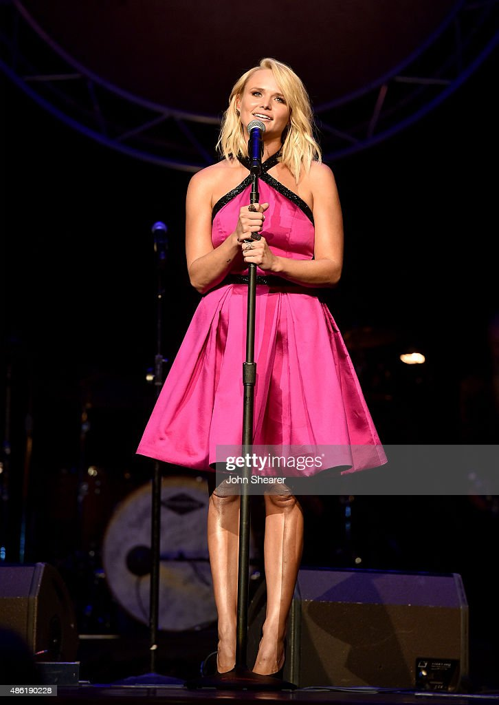 Miranda Lambert performs onstage during the 9th Annual ACM Honors at the Ryman Auditorium on September 1 2015 in Nashville Tennessee